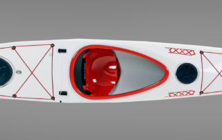 Sea kayak WK 500 top view