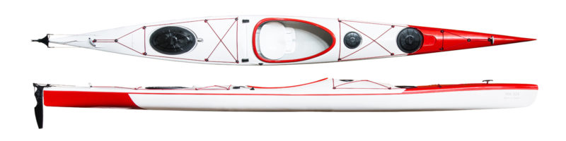 Fast touring kayak WK 525