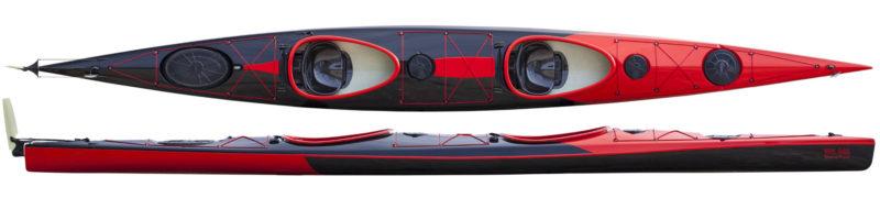 Fast double kayak WK 640 Sport