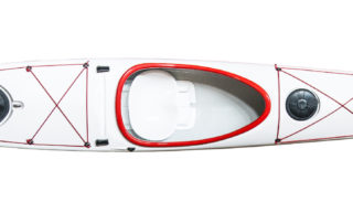Touring kayak WK 525 top view
