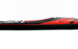 Expedition kayak WK 540 side view