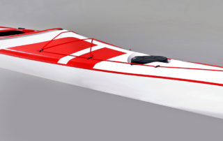Expedition kayak WK 540 diagonal view