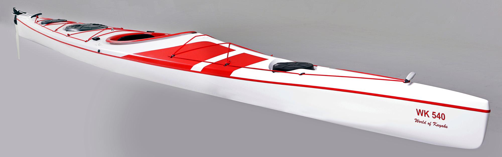 WK 540 Expedition - Spacious Expedition Kayak | World of Kayaks