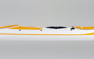 Double sea kayak WK 640 Expedition side view