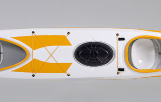 Double sea kayak WK 640 Expedition top view