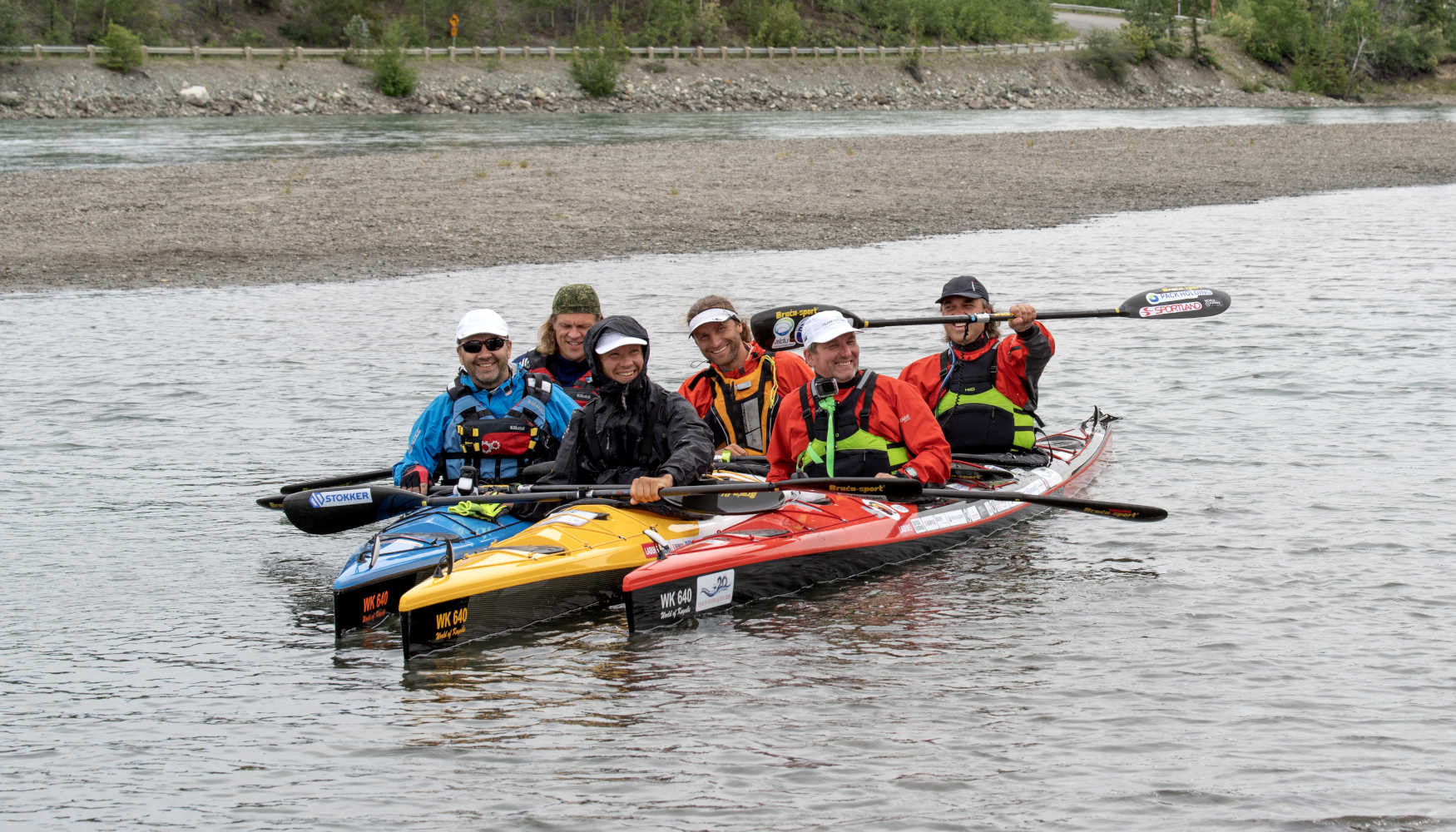 Yukon River Quest Team Estonia