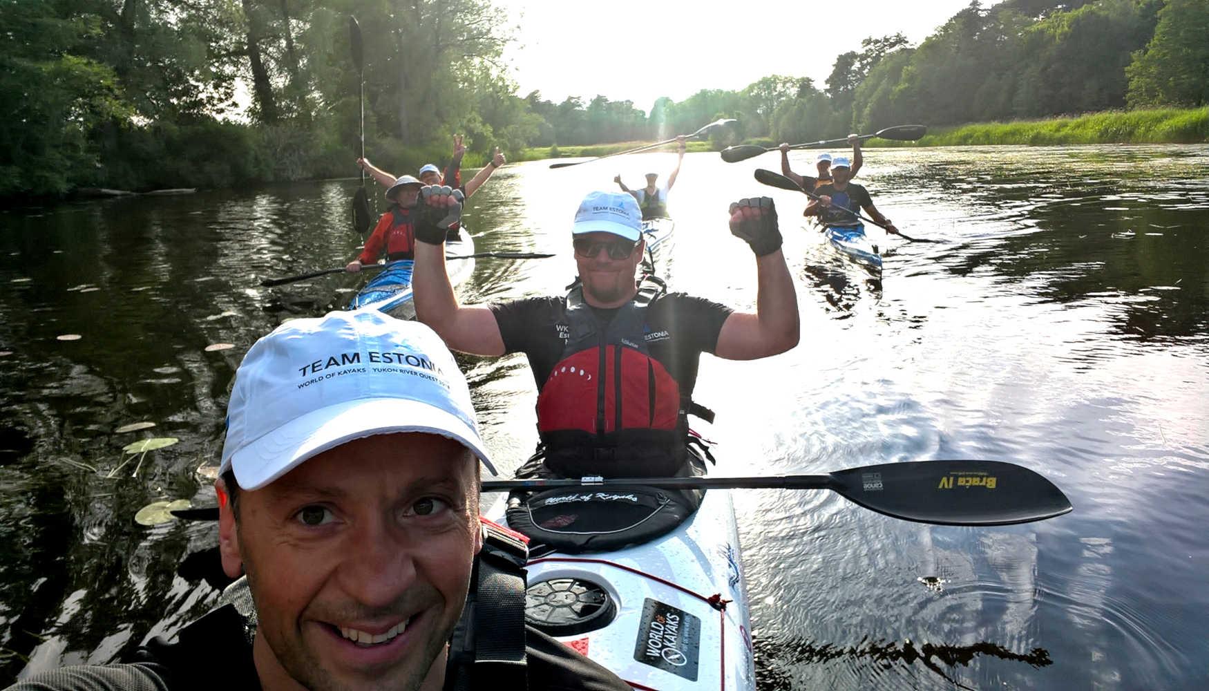 Yukon River Quest Team Estonia